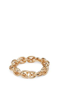 Chain-Link Stretch Bracelet | FOREVER 21 - 1000105845