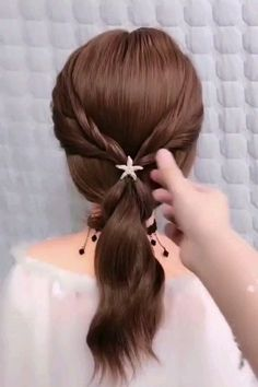 12 Braided Bun Hairstyles You Cannot Miss Braided Bun Hairstyles, Pretty Hairstyles, Toddler Hairstyles, Medium Hair Styles, Curly Hair Styles, Hair Donut Styles, Hair Upstyles, Stylish Hair, Hair Videos