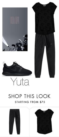 """Dance practice NCT 127 inspired"" by kerrylynnsfashion ❤ liked on Polyvore featuring NIKE and Bobeau"