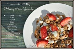 Making granola is so easy you don't even need instructions - just mix it!