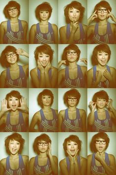 This is the haircut I need. Also this girl is Asian but in the ones with no glasses she looks like me. But I'm not Asian.