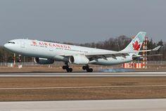 Air Canada Airbus A330-343E C-GFUR (79668) by Thomas Becker, via Flickr