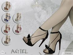 The Sims Resource: Madlen Agiel Shoes by MJ95 • Sims 4 Downloads