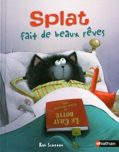 Splat a peur de faire un cauchemar. Il perd son doudou, appelle ses parents.