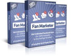 Fan Marketer - Add REAL Fans to Unlimited FanPages