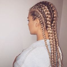 Hair Braiding Styles For White People 21 Trendy Braided Hairstyles To Try This Summer  Pinterest  Braid