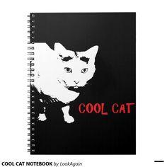 COOL CAT NOTEBOOK
