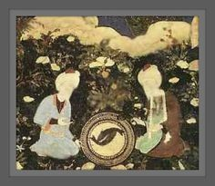 "Muxlimo's Lair: Perjalanan Hidup Iskandar Dzulqarnain | Lukisan yang menggambarkan Nabi Khidir a.s. dan Iskandar Dzulqarnain menyaksikan ikan asin yang hidup kembali di ""Telaga Kehidupan"". - Iskandar and Khidr find the source of life (Appr.)"