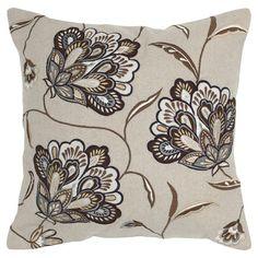 Found it at Wayfair - Decorative Pillow in Beige & Brown