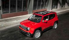 Jeep Renegade 2015 tem imagens reveladas nos EUA