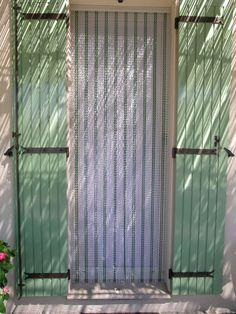 Rideau de porte en chaînette aluminium anodisé. Moderne, décoratif ...