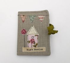 Needle Case...but what a great idea for a journal cover or ....