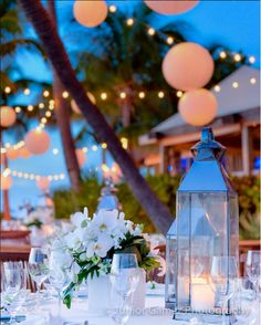 Outdoor birthday event at Little Palm Island. Flowers and decor by Avant Gardens Miami Event planning by Simply You Key West and Photography by the talented Junior Gamez Photography
