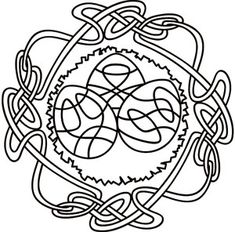 Wheel of the Year - Ostara design (UTH2282) from UrbanThreads.com