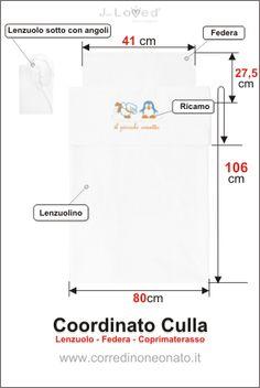 come cucire lenzuolino x culla | Ricerche correlate a Misure standard lenzuola lettino