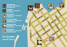 Wondering how to conquer a Key West bar crawl? Learn more about the Key West Cocktail Challenge and our suggested walking route.