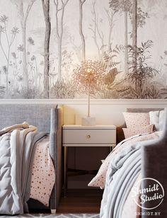 8 ideas for making a bedside table - HomeDBS Kids Bedroom Furniture, Home Bedroom, Apartment Interior, Interior Design Living Room, Bedside Table Design, Home Room Design, Baby Room Decor, Girl Room, Minsk Belarus