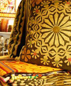 Coixins de patchwork, India