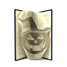 Book folding pattern  HALLOWEEN PUMPKIN  2 di SimplexBookFolding