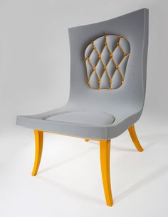 Sweet chair. New take on an old design.
