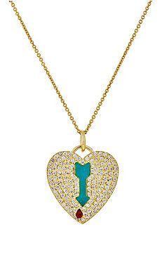 Shot-Through-The-Heart Necklace