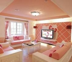 Hello kitty room? @Luuux