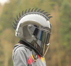 Motorcycle Helmet Mohawk