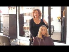 Watch this #hairtutorial video to find out how to create a voluminous blowout for any hair length! #hairstyles #blowout