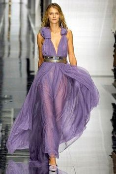 Gianfranco Ferre - (don't like the top, but the colour is wondrous - p)