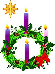 PRAYER  THAT  MAY  BE  RECITED  WHEN THE  CANDLE  IS  LIT,  ALONG  WITH  THE  GRACE  BEFORE  MEALS: God, our Father, Pour forth Thy blessing upon this Advent wreath, and grant that we who use it, may prepare our hearts for the coming of Jesus our Saviour, and thus, may receive from Thee, abundant graces. Amen.