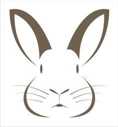 Superior Stencils Bunny Rabbit Stencil 2 pc - 6 size options- Create your own Easter Signs Easter Baskets