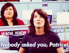 I want to know someone named Patrice so I can say this. Cracks me up.