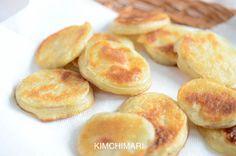 Korean potato fritters or Gamjajeon