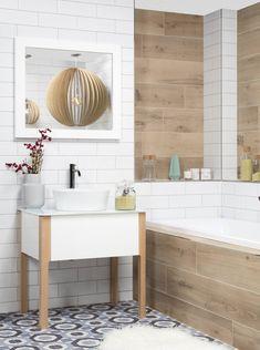 skandinávská koupelna Hygge, Double Vanity, Bathroom, Design, Full Bath, Bathing, Washroom, Bath