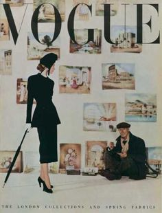Vogue March 1948. #magazine #cover #fashion