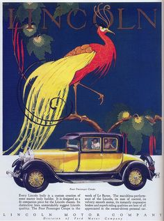 Lincoln Coupe, 1928 | Flickr - Photo Sharing!