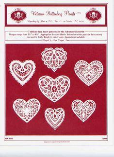 Papercut hearts - pappercuttingsbyalison.com