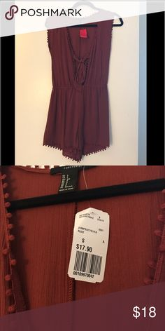 Romper Brand new! Size small. From forever 21 Free People Other
