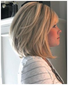 Above Shoulder Length Hairstyles for Thick Hair - live Style