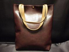 ハンドメイド国産本革T Cオールレザートートバッグボルドー303 インテリア 雑貨 Handmade bag ¥2600yen 〆05月05日