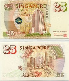 Can't remember seeing this note being used before it was taken out ... can you? History Of Singapore, Singapore Photos, Money Notes, Coins Worth Money, Money Stacks, Vintage Props, Coin Worth, Old Money, World Coins