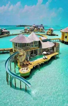 bora bora honeymoon Ferienanlage in Malediven - just luxux Vacation Places, Vacation Destinations, Dream Vacations, Vacation Travel, Holiday Destinations, Romantic Vacations, Italy Vacation, Romantic Travel, Dream Vacation Spots