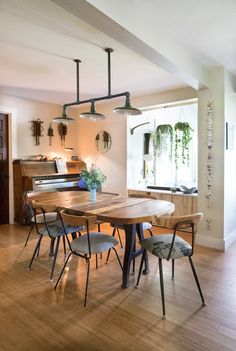 Liz & Adam's Industrial Home With a Modern Sensibility (and a Treehouse!)