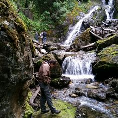 Waterfall #cascada de las cuevas