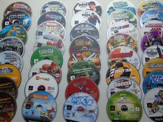 40 SONY PLAYSTATION 2 PS2 GAMES Star Wars Action Sports Adventure Discs Only #Gamer #PS2