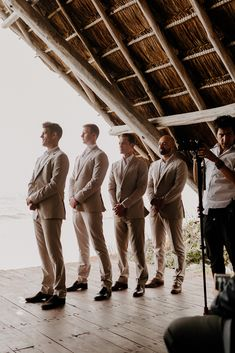 Groomsmen Squad ∙ Planning, designing by Destination Weddings Tulum ( on IG) Flowers by Moni Junco ( on IG)Makeup & Hairstyle by Dahena ( on IG) Moving Cross Country, Boho Beach Wedding, Makeup Hairstyle, Tulum Mexico, White Sand Beach, Destination Weddings, Film Photography, Videography, Beautiful Beaches