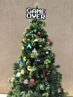 Anything on this Christmas tree | Community Post: 45 Awesome Christmas Ornaments Every Video Game Lover Needs