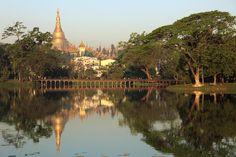 Kandawgyi Lake #burma #myanmar