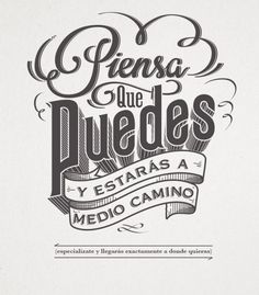( ^o^ ) diseño grafico barcelona, logo, elite gourmet, logo para empresa, logo para comida Motivational Phrases, Inspirational Quotes, Foto Transfer, Mr Wonderful, More Than Words, Spanish Quotes, Lettering Design, Wise Words, Lyrics