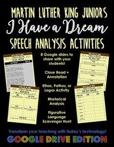I Have a Dream Speech Analysis